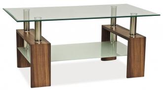 Konferenční stolek LISA II ořech