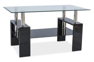 Konferenční stolek LISA III černý lak