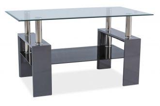 Konferenční stolek LISA III šedý lak