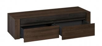 Závěsný toaletní stolek EMERSON 08 charlestone tabák/černá
