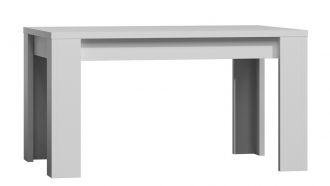 Jídelní stůl rozkládací 160 x 90 PARIS bílá