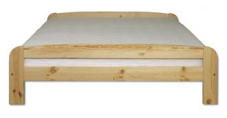Postel 140 cm, KL-108, masiv borovice