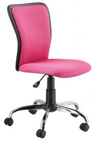 Studentská židle Q-099 růžová/černá