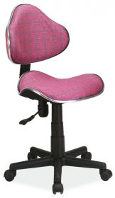 Studentská židle Q-G2 růžový vzor