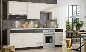 Kuchyně RAVEN 240 s WS80GRF/2 douglaska/šedý lesk