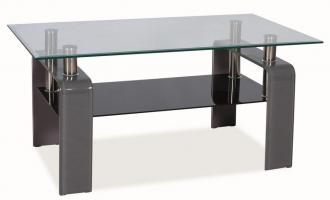 Konferenční stolek STELLA šedý