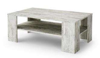 Konferenční stolek CHECO bílá borovice