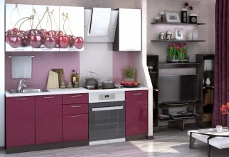 Kuchyně VALERIA ART 160 Cherry/wenge