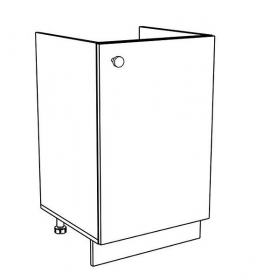 60DZ dolní skříňka pod dřez EKO bílá