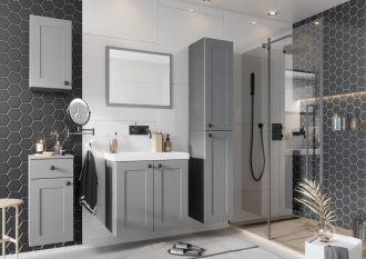 Koupelnová sestava STRADONE šedá mat