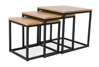 3SET konferenční stolky TRIO