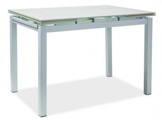 Jídelní stůl TURIN rozkládací bílý