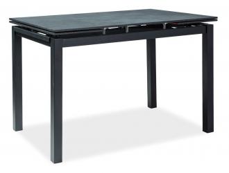 Jídelní stůl TURIN rozkládací černý