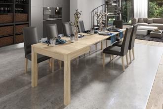 Jídelní stůl rozkládací LIONI 2 sonoma