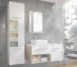 Koupelnová sestava CAMPO bílá lesk