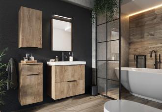 Koupelnová sestava LONGFORD I dub lefkas