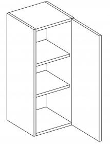 W30 horní skříňka jednodvéřová MIA pravá picard