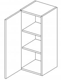W30 horní skříňka jednodveřová MIA levá picard