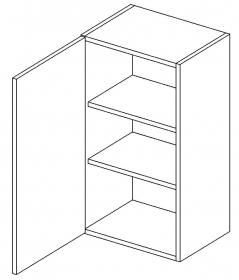 W40 horní skříňka jednodvéřová MIA levá picard