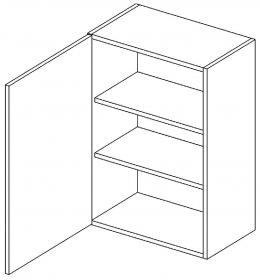 W60 horní skříňka jednodvéřová MIA levá picard