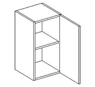 W30/58 horní skříňka jednodvéřová MORENO picard