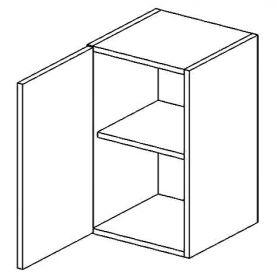 W50L horní skříňka jednodvéřová POSNANIA