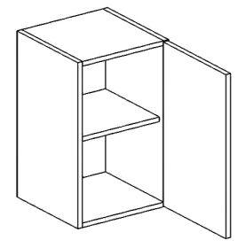 W50P horní skříňka jednodvéřová PREMIUM de LUX olše