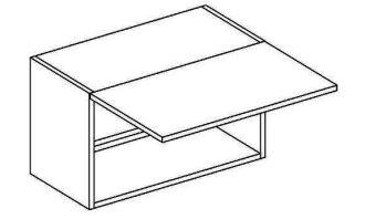 WO 50/35 skříňka nad digestoř NORA de LUX2 hruška