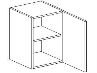 W60 horní skříňka jednodvéřová MORENO sonoma