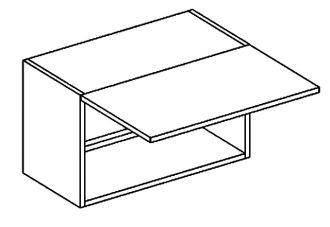 WO 60/30 skříňka nad digestoř PREMIUM de LUX olše2