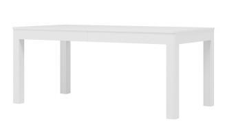 Jídelní stůl rozkládací SICILIA 2 bílá mat