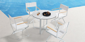 CLINT WHITE - 4 místní jídelní sezení