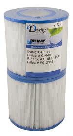 Kartušový filtr 120/125mm SC726