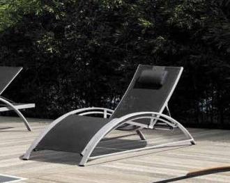 SET luxusní lehátko+stolek ESTELLE