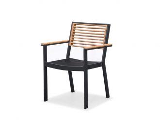 NEW YORK - jídelní židle s područkami