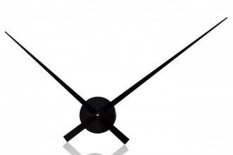 nástěnné hodiny MODERN BLACK