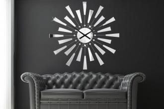 luxusní nástěnné hodiny REFLECTIONS