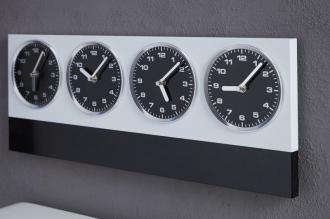 nástěnné hodiny WORLD TIME s magnety