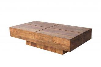 Konferenční stolek BOLT 110 CM masiv sheesham