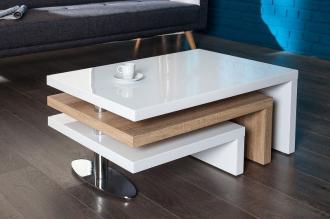 konferenční stolek HIGHCLASS OAK rozkládací