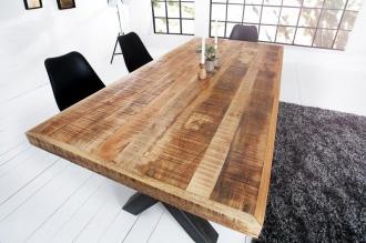 jídelní stůl IRON CRAFT 200-A masiv mango