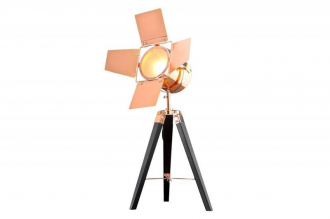 stojací lampa HOLLYWOOD BLACK COPPER 65 CM