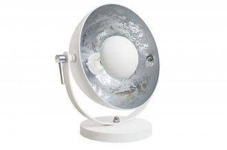 stolní lampa STUDIO WHITE SILVER