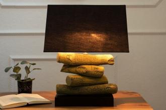 stolní lampa TERRA BLACK