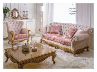 luxusní sedací souprava 3 SET ROYAL LUXUS
