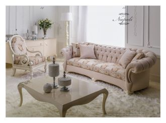 luxusní sedací souprava 3 SET NAPOLI LUXUS