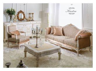 luxusní sedací souprava 3 SET KASTRA LUXUS