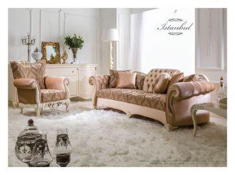 luxusní sedací souprava 3 SET ISTANBUL LUXUS