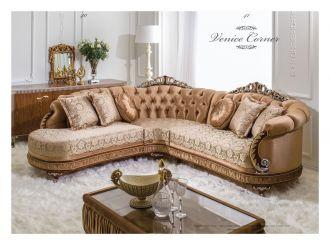 luxusní sedací souprava 3 SET VENICE CORNER LUXUS