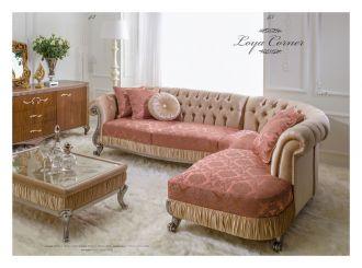 luxusní sedací souprava 3 SET LOYA CORNER LUXUS